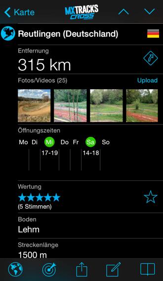 freie rennstrecken deutschland